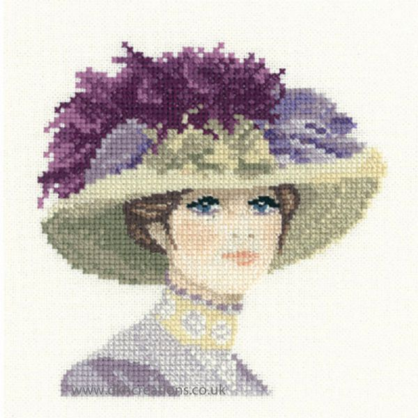 Hannah Miniature Evenweave Cross Stitch Kit